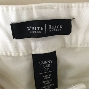 White House Black Market Jeans - WHBM White House Black Market skinny jeans